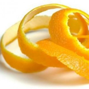 Апельсиновая кожура для растопки камина
