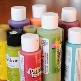 Хранение остатков краски