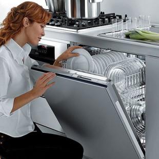 Мелкие принадлежности в посудомойке